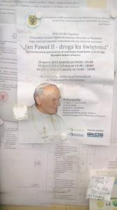 Wybory - Tablica w Konarzewie